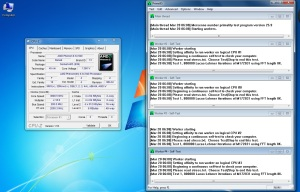 Overclocked Phenom CPU under load